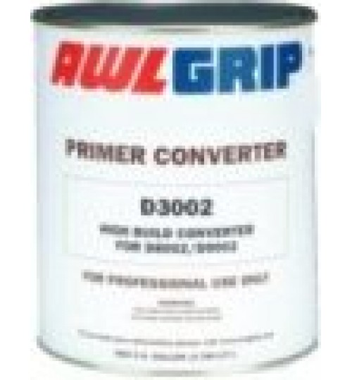 Awlgrip High Build Epoxy Primer Converter, D3002, QT