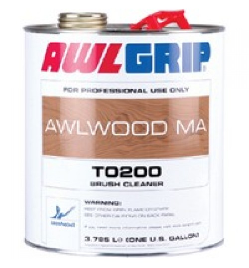 Awlwood MA Brush Cleaner, T0200, Gallon