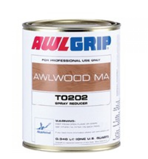Awlwood MA Spray Reducer, T0202, Quart
