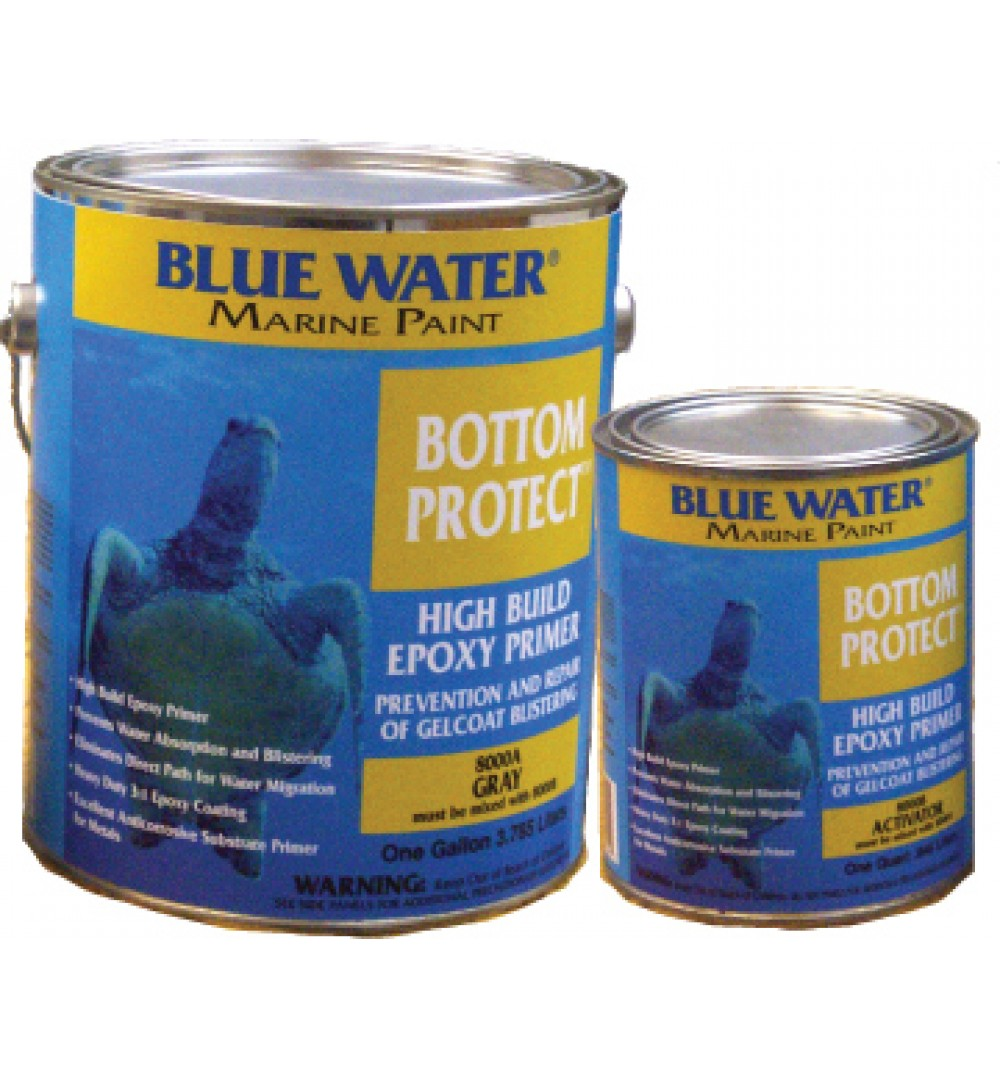 Marine Epoxy Paint : Blue water marine bottom protect epoxy primer
