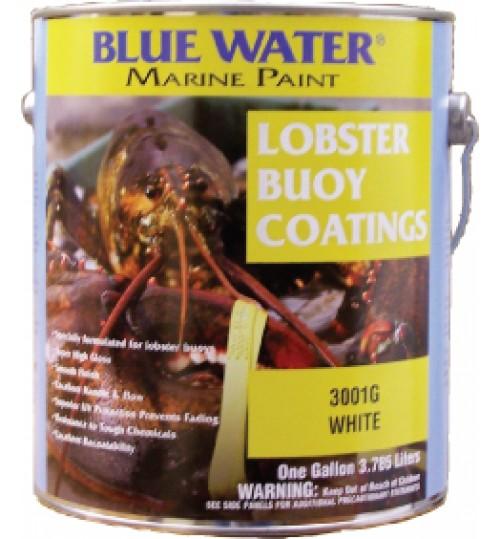 Blue Water Marine Lobster Buoy Enamel Quart