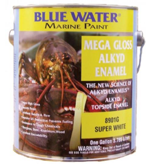 Blue Water Marine Mega Gloss Alkyd Quart