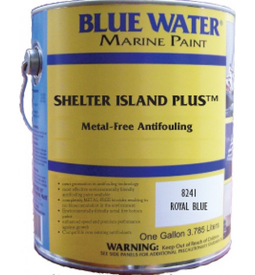 Blue Water Marine Shelter Island Plus Copper Free Ablative