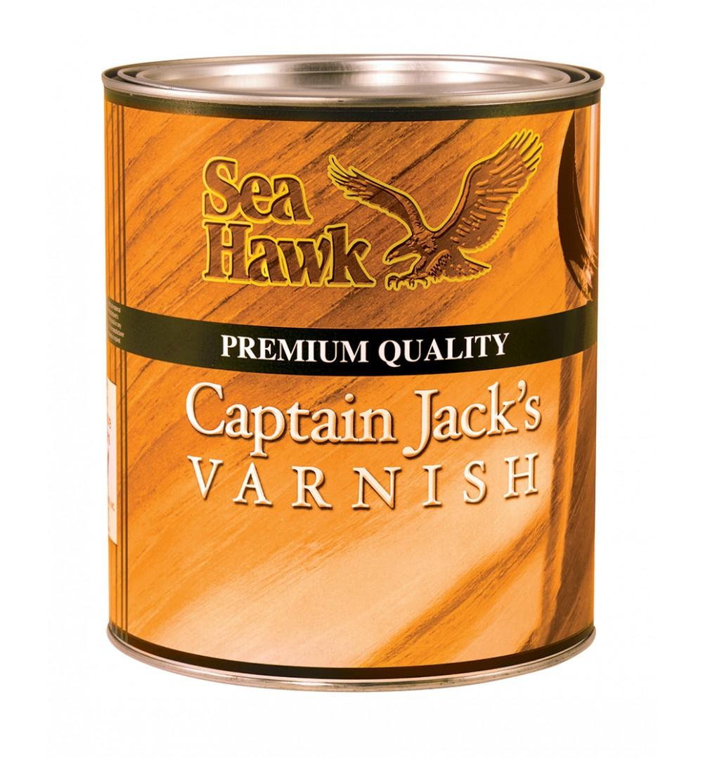 Sea Hawk Paints Captain Jack S Varnish Quart