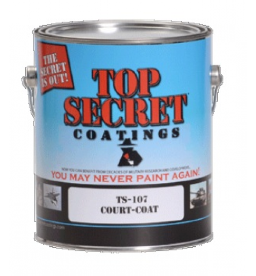 TS-107 Court Coat, 5 Gallon by Top Secret Coatings