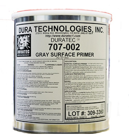Duratec Polyester Surfacing Primer, Grey
