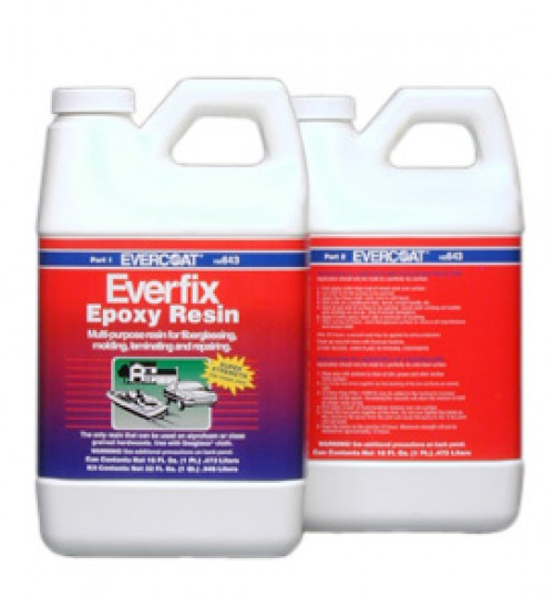 Everfix Epoxy Resin, 1 QT Kit