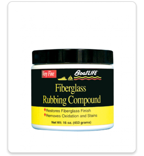Fiberglass Rubbing Compound 16oz.