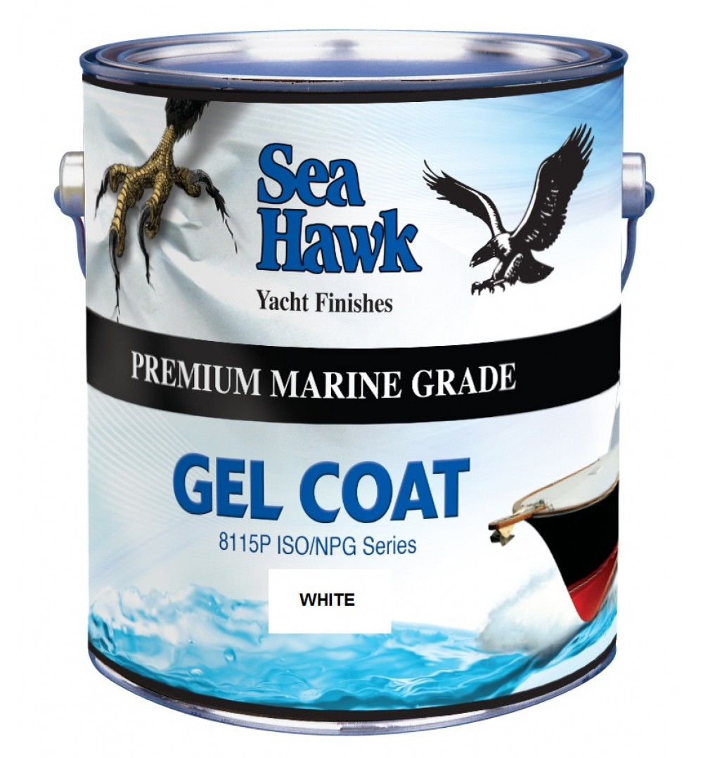 Snow White Gelcoat By Sea Hawk Paints