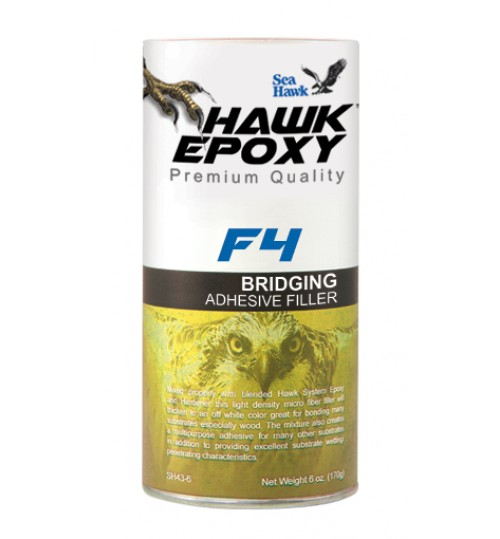 Hawk Epoxy Bridging Adhesive Filler, F4, 5.6oz