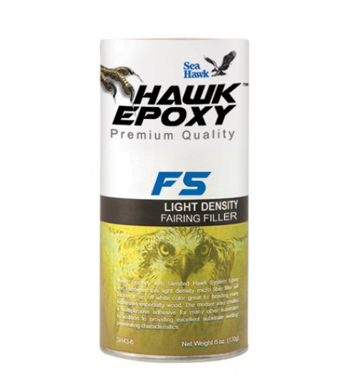 Hawk Epoxy Light Density Fairing Filler, F5, 4oz