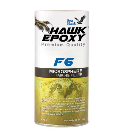 Hawk Epoxy MicroSphere Fairing Filler, F6, 5.2oz