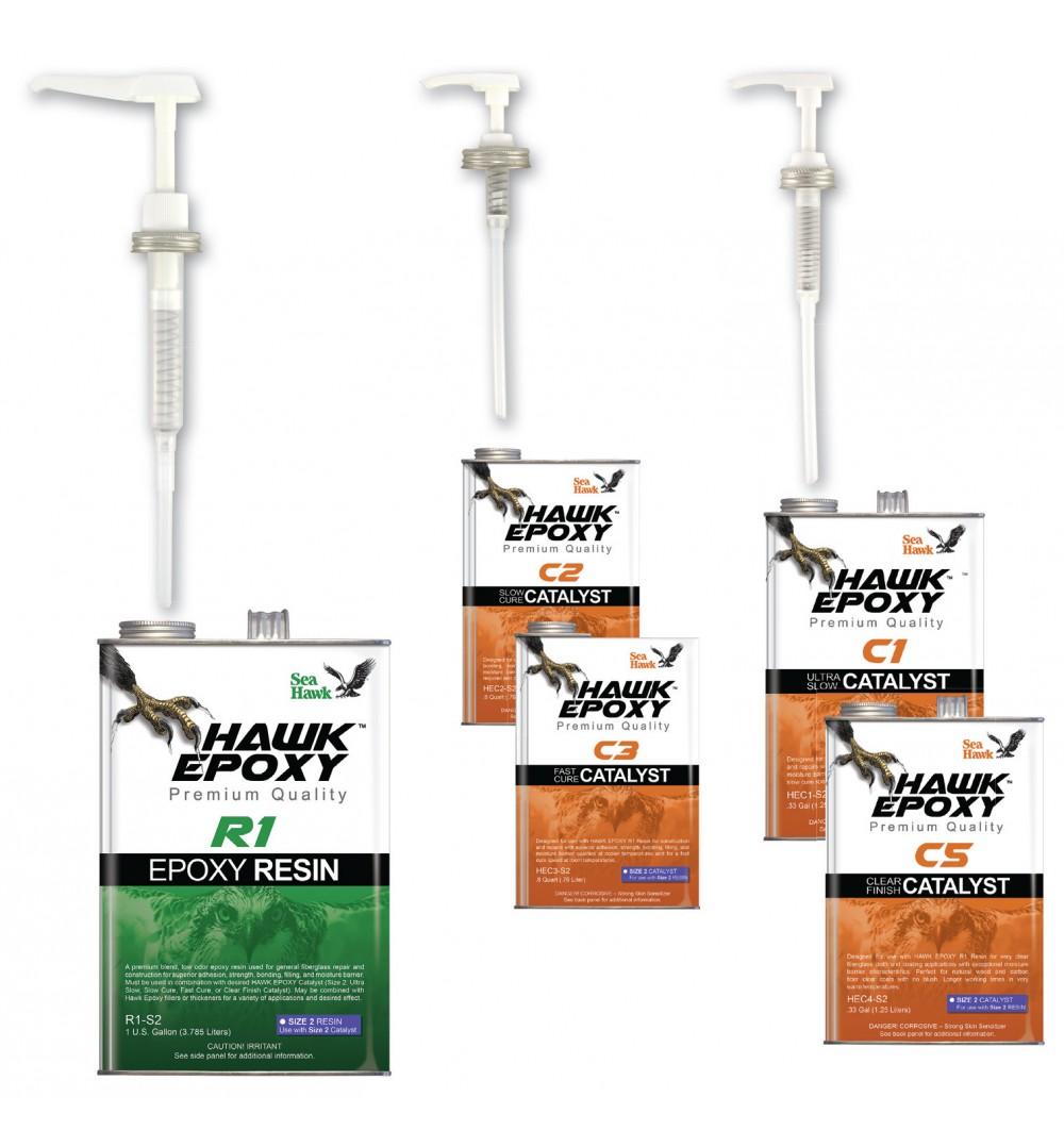 Hawk Epoxy Pump Set, 30-KT