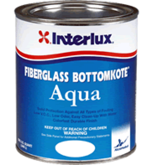 Interlux Fiberglass Bottomkote Aqua