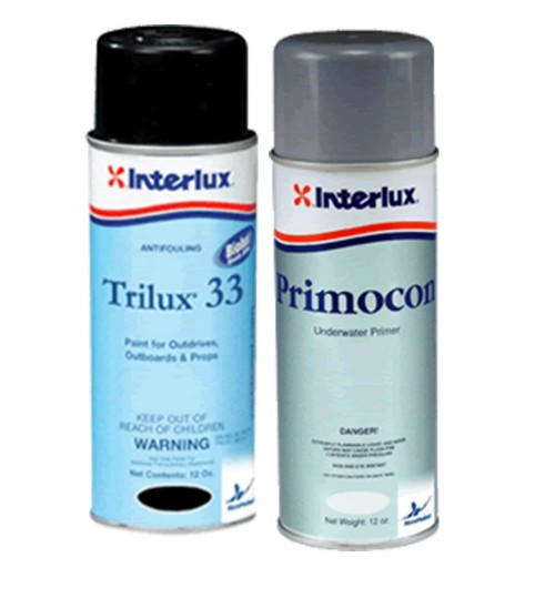 Interlux Trilux 33 Aerosol and Primer Kit