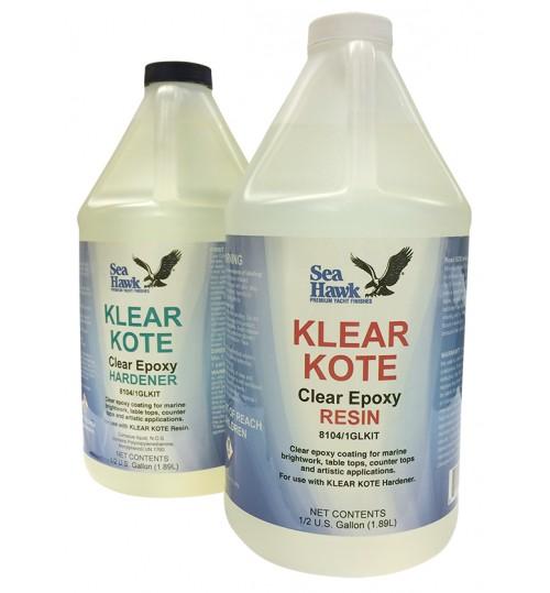 Klear Kote Epoxy Resin, 1 Gallon Kit