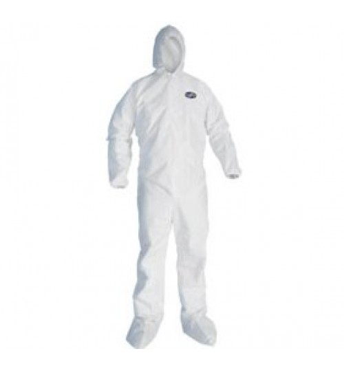 KLEENGUARD A20 Breathable Coveralls w/ Hoods & Boots XL