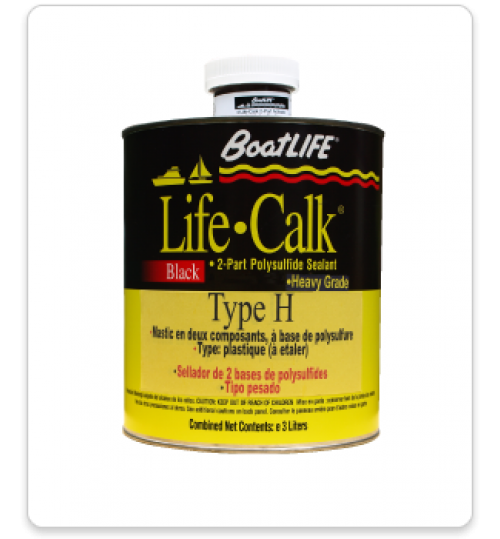 Life-Calk Two-Part Sealant Type H (Heavy), Gallon, 1047