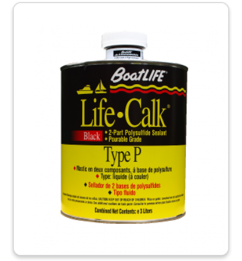 Life-Calk Two-Part Sealant Type P (Pourable), Gallon, 1050