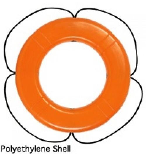 Life Ring, Polyethylene Hard Shell
