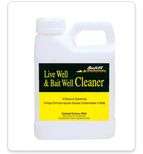 Live Well and Bait Well Cleaner, Quart