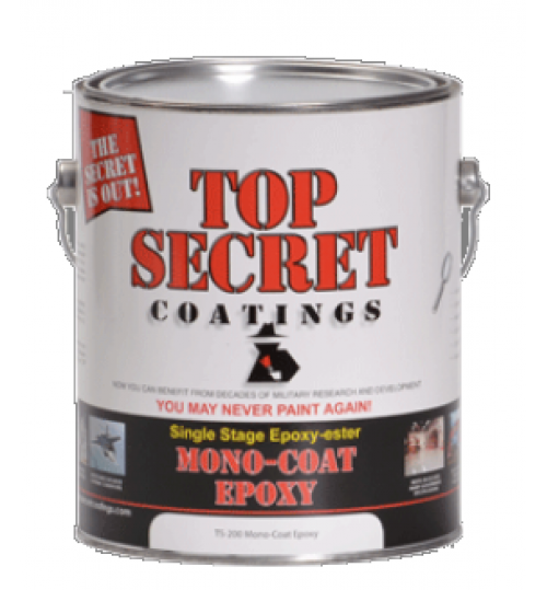 TS-200 Mono Epoxy, Half Gallon by Top Secret Coatings