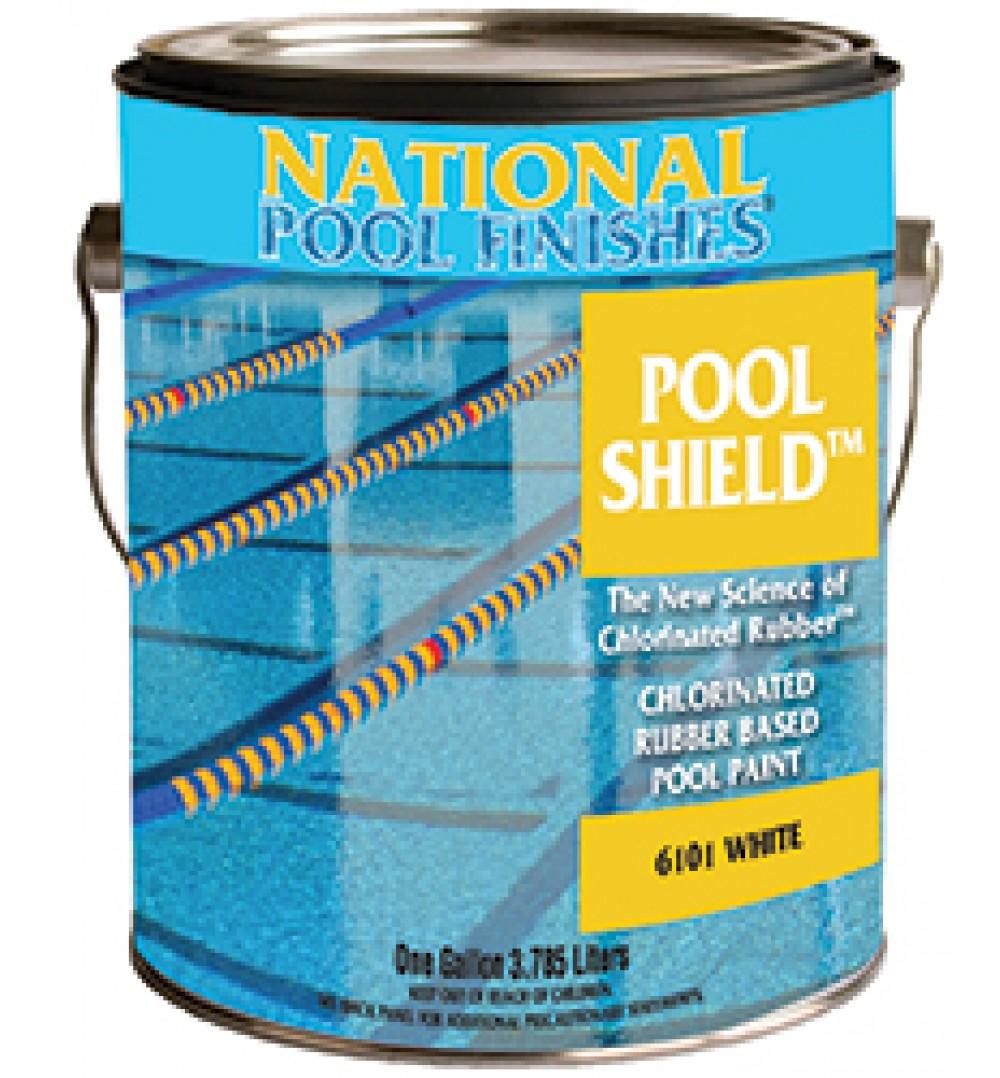 Pool Shield Chlorinated Rubber Pool Paint