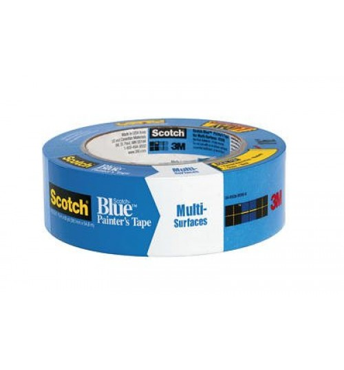 Scotch-Blue Painter Tape Multi-Surfaces 2090, 06820,2in x 60yd