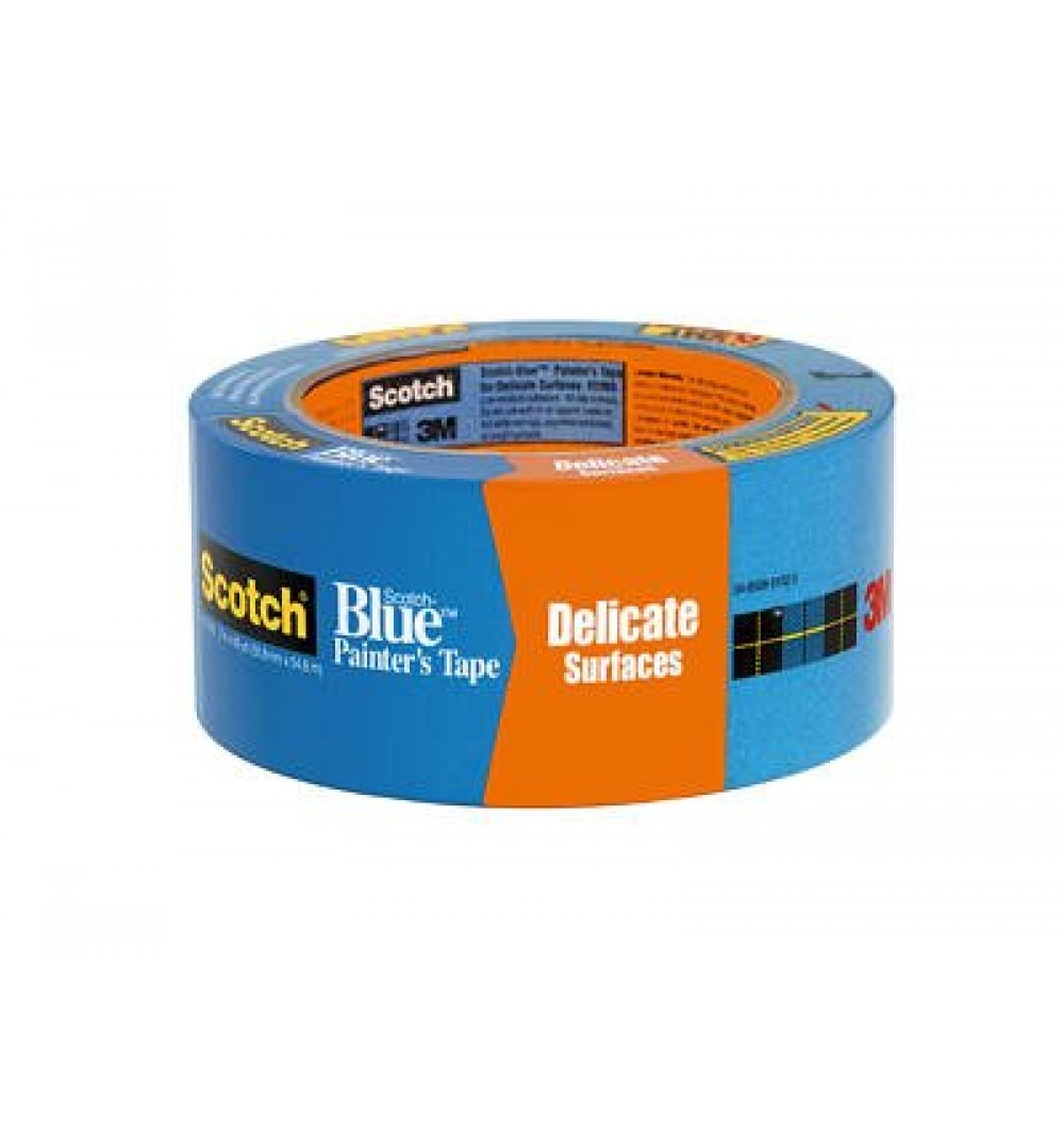 scotch blue painters tape delicate surfaces 6820 2a2in x60yd - Blue Painters Tape