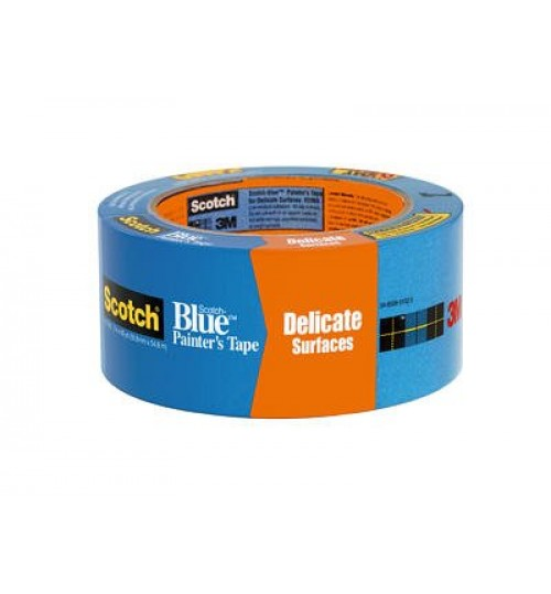 "3M 2080 2"" Blue Safe Release Tape Roll"