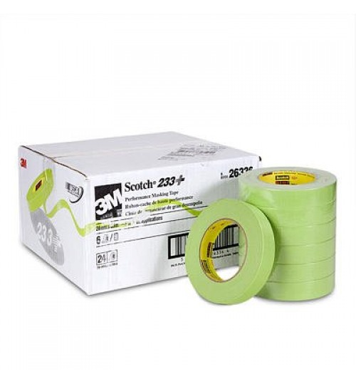 Scotch Performance Masking Tape 233+, 26338, 36mm x 55m