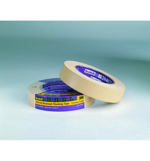 Scotch Solvent Resistant Masking Tape 2040, 48 mm x 55 m