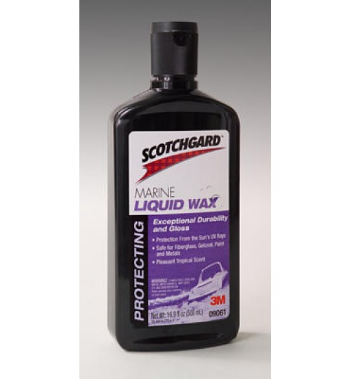 Scotchgard Marine Liquid Wax 09062, Liter