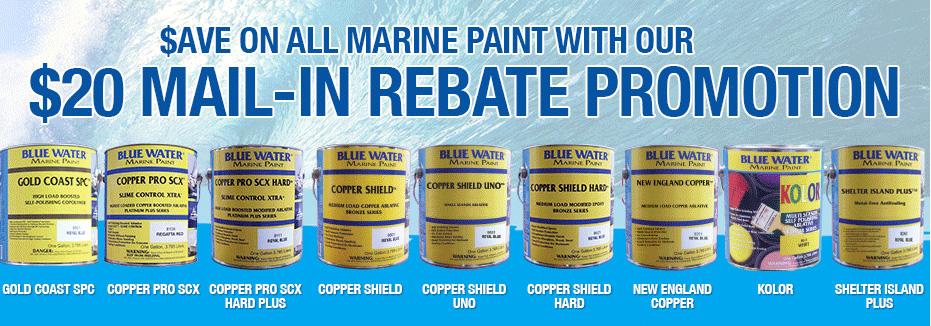 Blue Water Marine Rebates