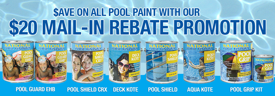 Pool Paint Rebates