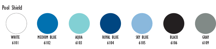 POOL Shield Colors
