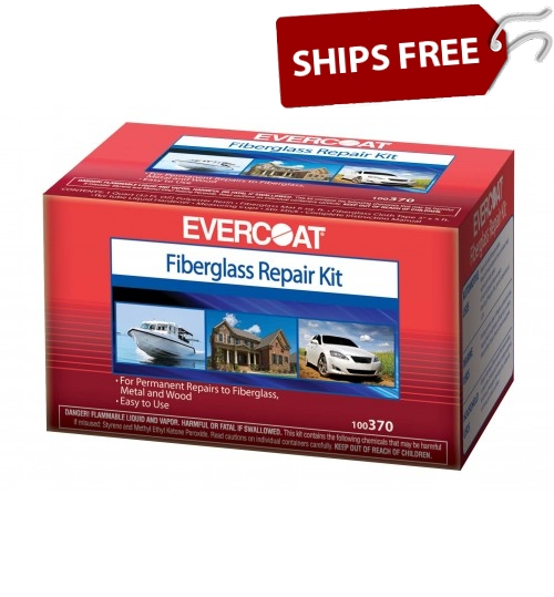 Evercoat Fiberglass Repair Kit, 8oz Kit