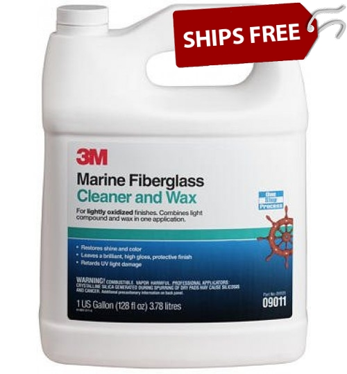 3M Marine Cleaner and Wax, 09011, 1 gal