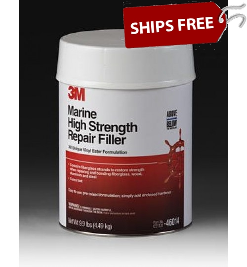 3M Marine High Strength Repair Filler, 46014, 1 Gallon