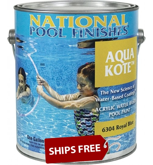 Aqua Kote™ Acrylic Waterbase Pool Paint - Standard Colors