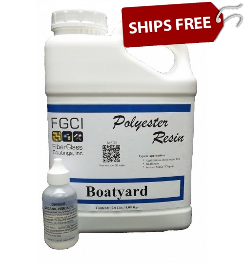 Boatyard Polyester Resin, Gallon