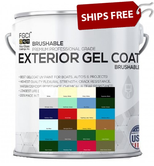 Ultra Plus Brushable Gelcoat, Gallon