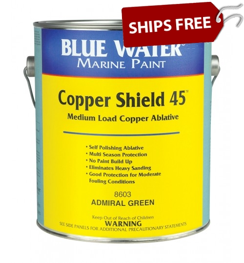 Blue Water Marine Copper Shield 45 Ablative