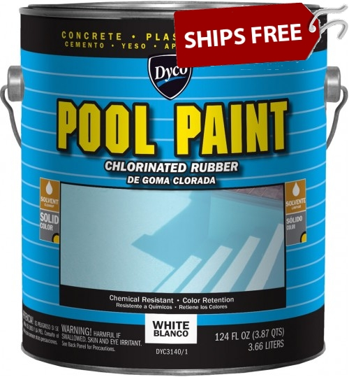 Chlorinated Rubber Pool Paint by DYCO