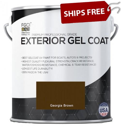 Georgia Brown Professional Grade Exterior Gel Coat