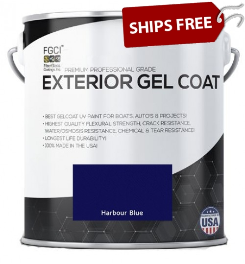 Harbour Blue Professional Grade Exterior Gel Coat