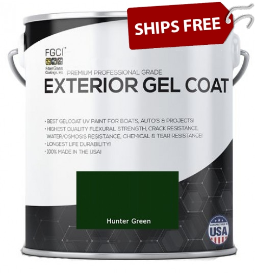 Hunter Green Professional Grade Exterior Gel Coat