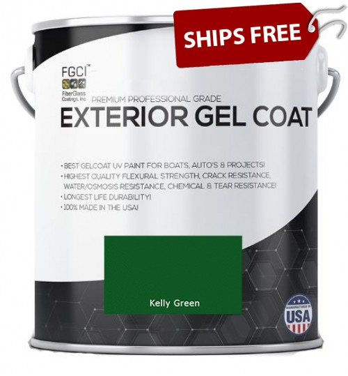Kelly Green Professional Grade Exterior Gel Coat