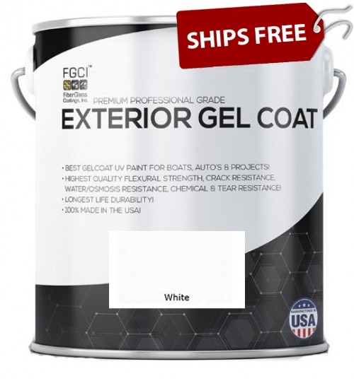 Ultra White Professional Grade Exterior Gel Coat