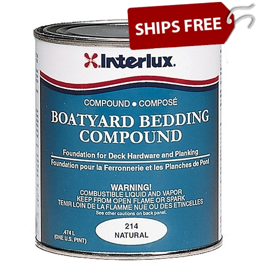 Interlux Boatyard Bedding Compound 214